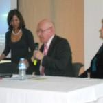 Dott.ssa Anna Tucci Fenga con il Prof. Philippe Deprez